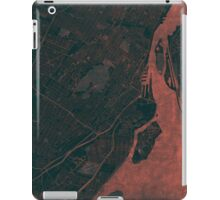 Montreal Map Red iPad Case/Skin