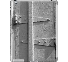 Barn Door Hinges BW iPad Case/Skin