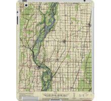 USGS TOPO Map Arkansas AR Leachville 260146 1941 62500 iPad Case/Skin