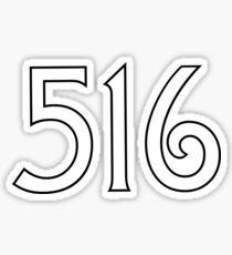 516 Sticker