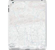 USGS TOPO Map Arkansas AR Sims 20110713 TM iPad Case/Skin