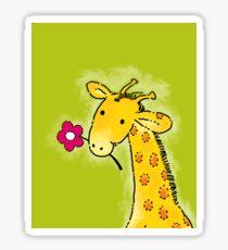 Girafe Sticker