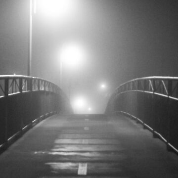 Bridge on a Foggy Night by Doge21