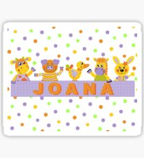 Animals Party Sticker