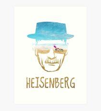Lámina artística Heisenberg