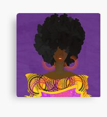 CULTURALLY SUPREME Canvas Print