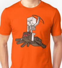 Minecraft Spider Jockey Unisex T-Shirt