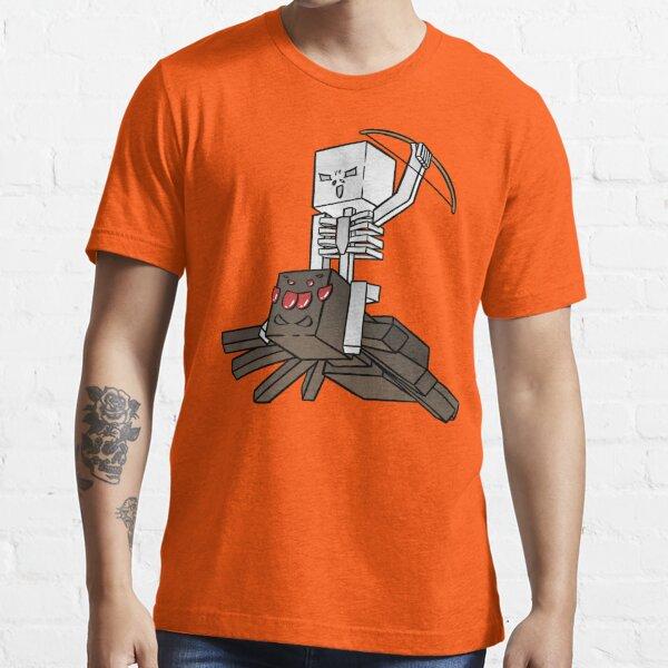 Minecraft Spider Jockey Essential T-Shirt