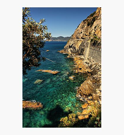 Ligurian Coast Photographic Print