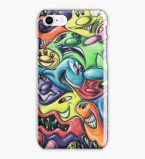 Kenny Scharf Wynwood Graffiti Wall iPhone Case/Skin