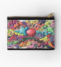 Kenny Scharf Wynwood Graffiti Wall Studio Pouch