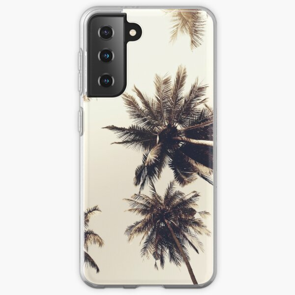 Palm trees Samsung Galaxy Soft Case