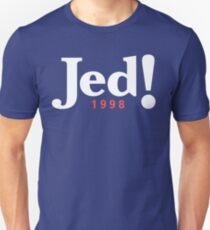 Jed! Bartlet 1998 Campaign Logo (Jeb Bush Spoof) T-Shirt