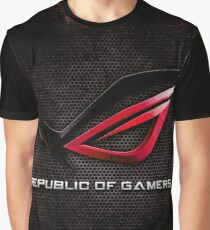ROG - Republic of Gamers HQ Graphic T-Shirt