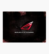 ROG - Republic of Gamers HQ Photographic Print