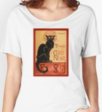 Poster La tournée du Chat Noir  Women's Relaxed Fit T-Shirt