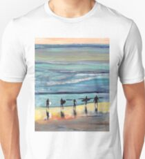 Day at Surfer Joe's by Riccoboni, Surfing Picture Unisex T-Shirt