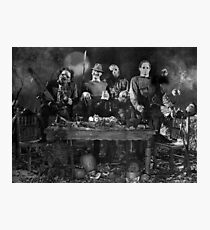 Horror Icons Photographic Print