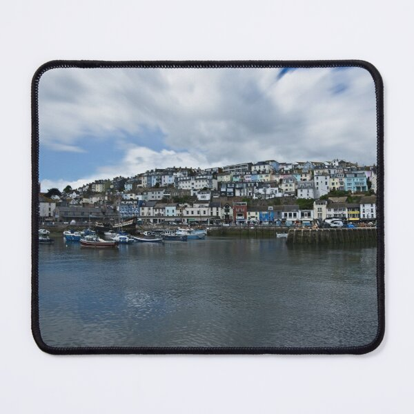 Brixham The Colourful Harbour Mouse Pad
