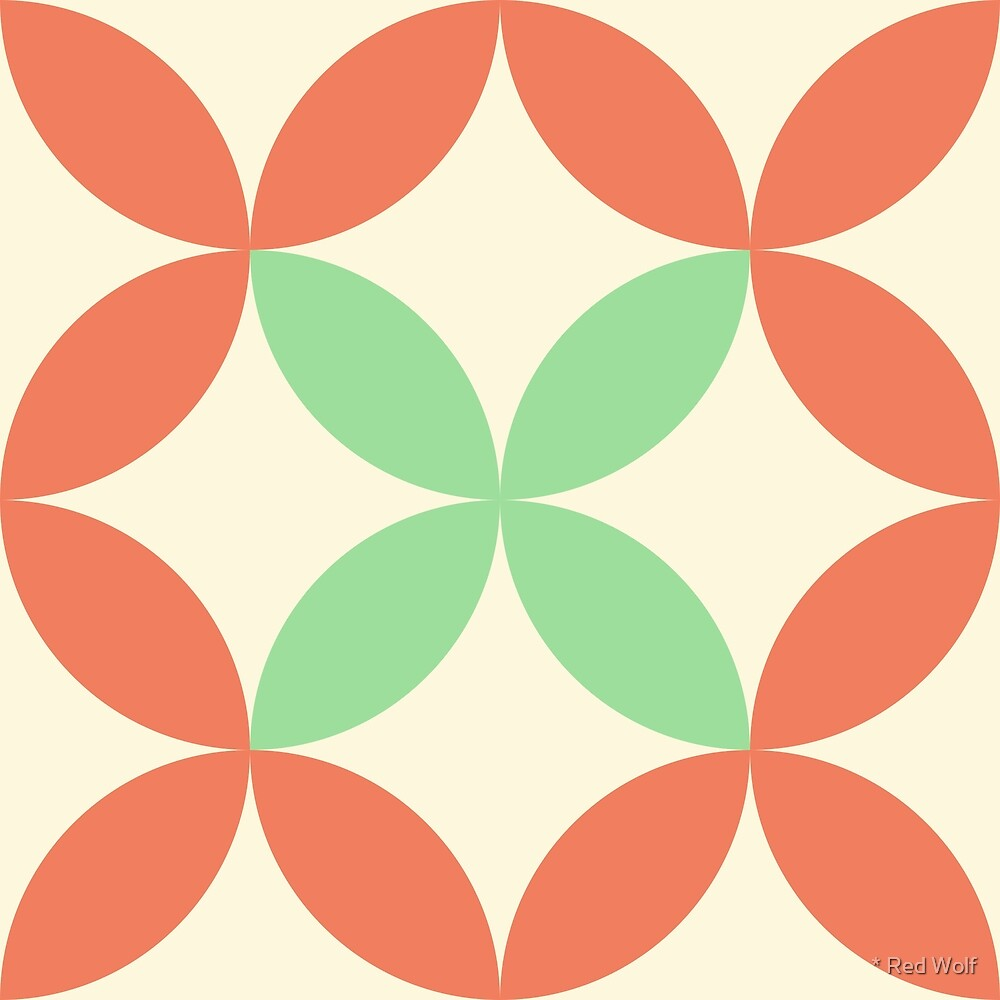 Geometric Pattern: Circle Nested: Hub by * Red Wolf