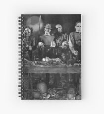 Horror Icons Spiral Notebook