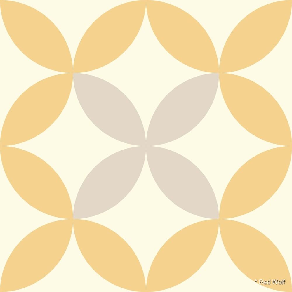 Geometric Pattern: Circle Nested: Manuka by * Red Wolf
