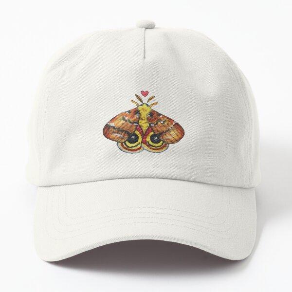 Watercolor Io Moth Dad Hat
