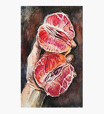 Grapefruit Photographic Print
