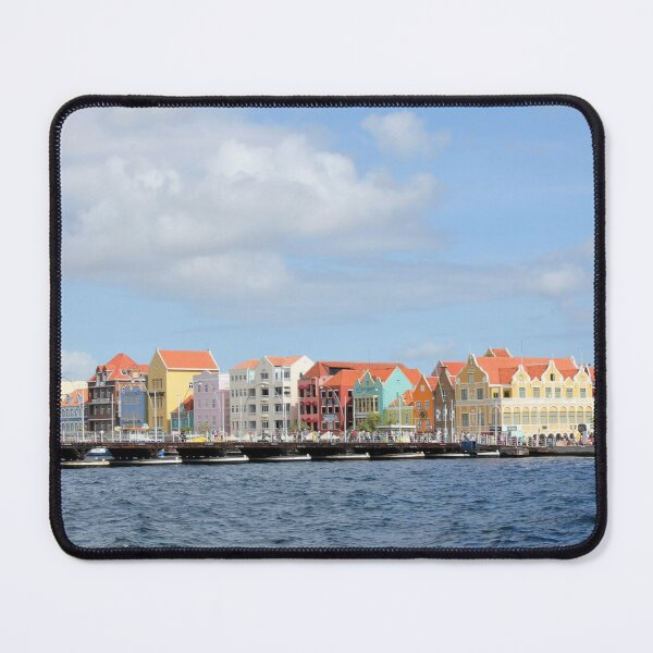 Colorful Houses of Willemstad, Curacao Mouse Pad