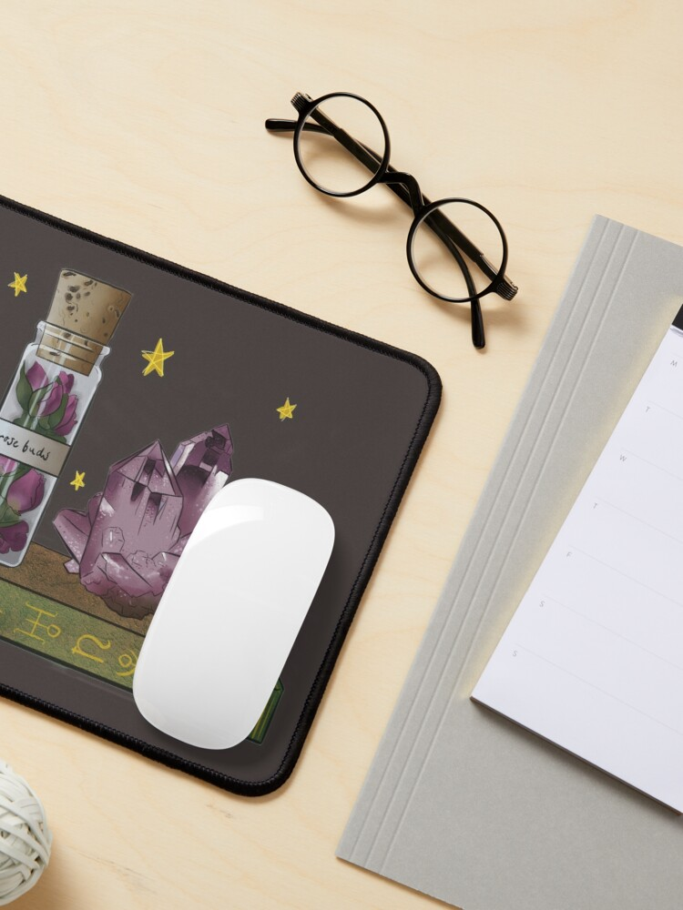 Alternate view of A love spell neads rosebuds Mouse Pad