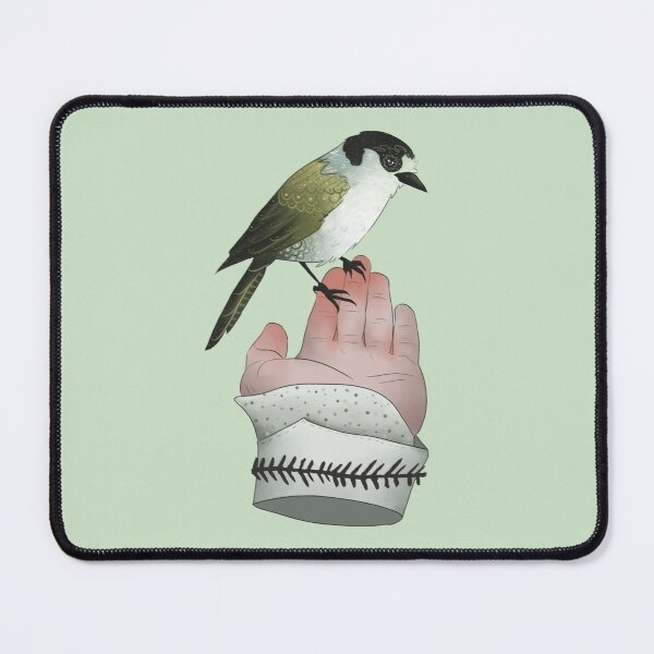 A bird in the hand is worth two in the bush Mouse Pad