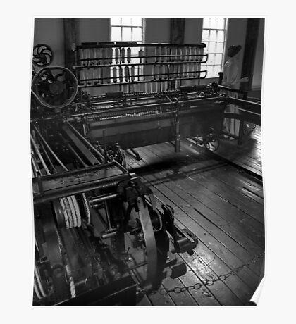 Inside Slater Mill Poster
