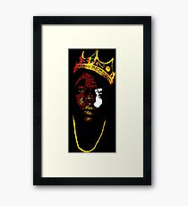 Biggie It Was All A Dream Framed Print