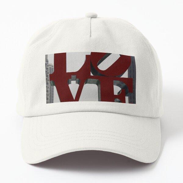 Love Philadelphia Sculpture Dad Hat