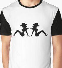 Cowgirl Mudflap Girls Graphic T-Shirt
