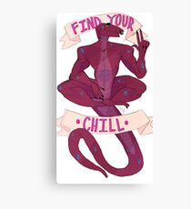 find your chill Canvas Print