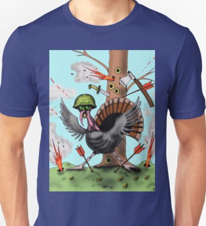 Funny Thanksgiving turkey drawing T-Shirt