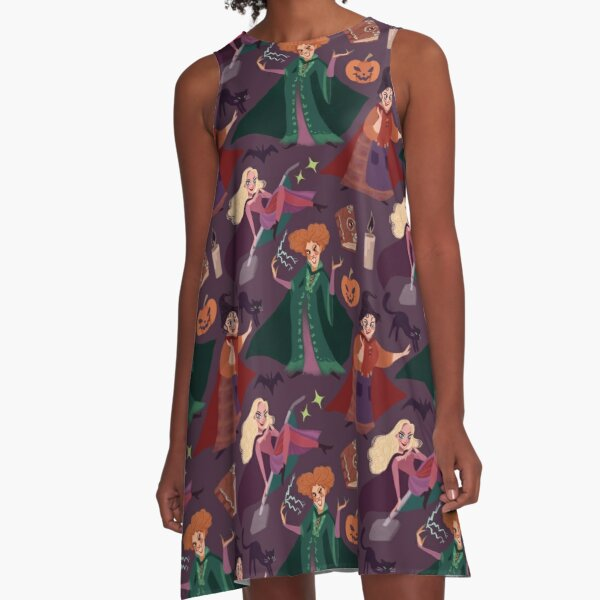 The Witch is Back! A-Line Dress