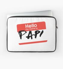 My Name Is... Papi Laptop Sleeve