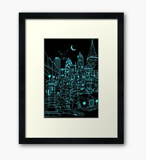 London! Night Framed Print