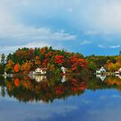 Baldwin Lake Fall Colors by stormypleasures