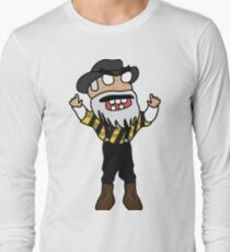 angry zombie yosef Long Sleeve T-Shirt