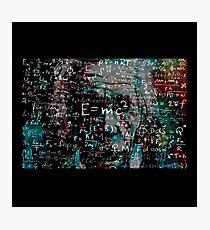 Abstract Einstein Photographic Print