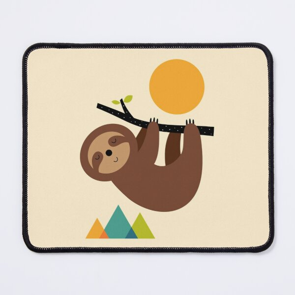 Keep Calm And Live Slow Mouse Pad