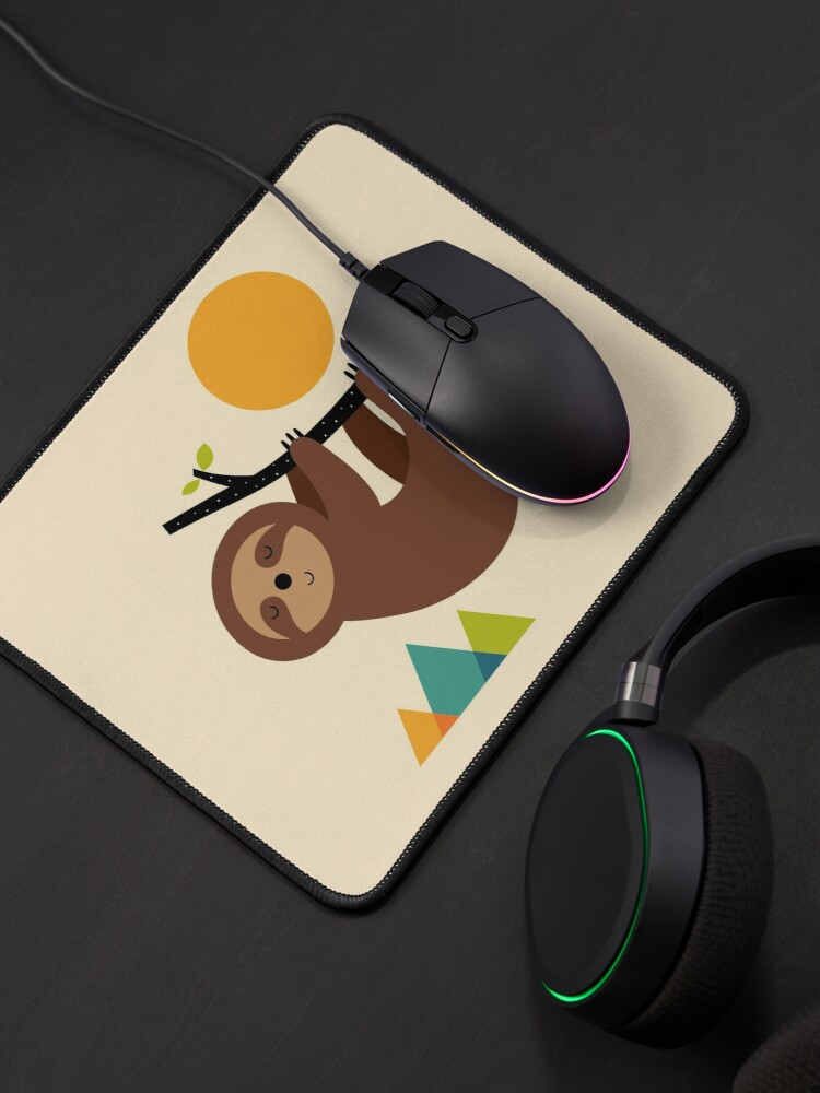 Alternate view of Keep Calm And Live Slow Mouse Pad