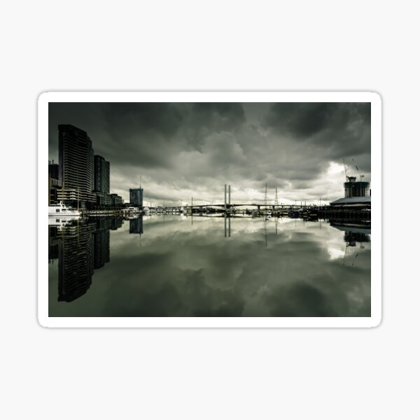 Docklands and the Bolte Bridge Sticker