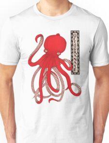 Pomegranate Octopus Octogranate T-Shirt