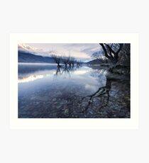 The Sisters - Glenorchy - NZ Art Print
