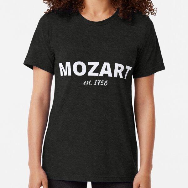 Mozart est.1756 Tri-blend T-Shirt