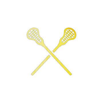 Lacrosse-Stock-Gelb von hcohen2000